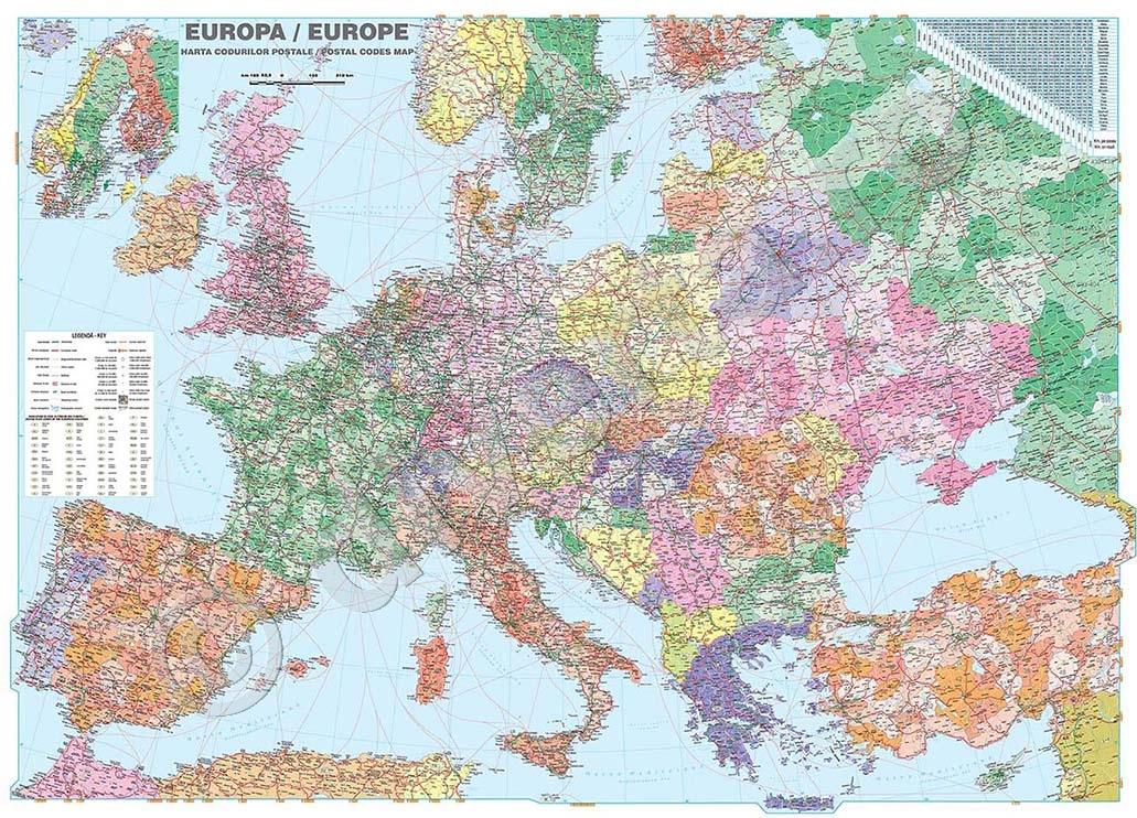 Harta Europei Rutiera Sandrataylor079p