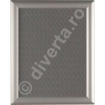 RAMA POSTER B1 25 MM CLICK / SNAP PENTRU TABLOURI, aluminiu eloxat, culoare argintiu (silver) mat, latime profil 25 mm, suprafata 700x1000 mm-1