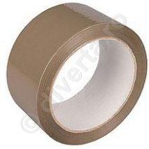 Banda adeziva acrilica pentru ambalare, maro, 48 mm x 60 m, 36 microni (EU); latime: 48 mm; lungime: 60 m; grosime: 36 microni; culoare: maro