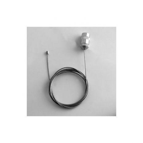 RAMA (CASETA) A1 CLICK ILUMINATA LED 25 MM PENTRU POSTERE, AFISE, TABLOURI, aluminiu eloxat, culoare argintiu (silver) mat, latime profil 25 mm, suprafata 594x841 mm-6